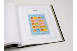 DAVO Luxe bladen Nederland Persoonlijke Postzegels Verticale Velletjes van 10 (PVV) (per 5 stuks)
