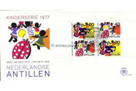NVPH E106a Blok Kinderzegels 1977