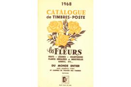 Gebruikt Postzegelcatalogus Thema Bloemen Catalogue de timbres-poste les Fleurs 1968