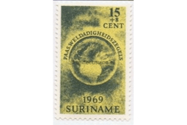 NVPH 512 Postfris (15 + 8 cent) Paaszegels 1969