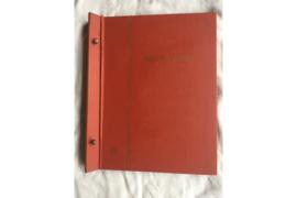 Gebruikt Importa Luxe FDC Nederland album Oranjebruin PS II met 11 FDC Bladen voor 44 enveloppen
