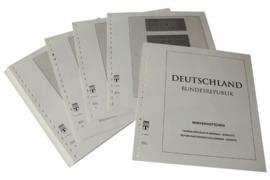 Lindner Inhouden / T-Voordruk albumbladen met folie voorbladen met stroken (Inhoud) Postzegelboekjes 1951-2013 (48 bladen) (Lindner 120B-H)