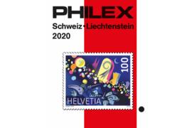 Philex Zwitserland/Liechtenstein 2020 Catalogus in kleur