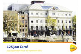 Nederland NVPH M465a (PZM465a) Postfris Postzegelmapje 125 jaar Carré 2012
