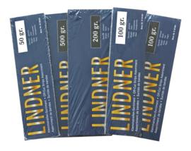 Lindner klemstroken 50 gram zwart (Lindner S10050)