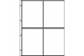 WL Euro-System E-2x2, uitvoering zoals Importa V-bladen (per stuk)