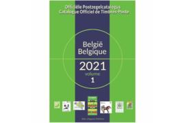 België Officiële Postzegelcatalogus incl. ex-koloniën 2021 OCB (Vol. 1 & Vol. 2) (ISBN 978-94-92785-03-9)