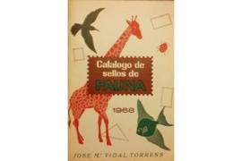 Gebruikt Postzegelcatalogus Thema Fauna Catalogo de sellos de Fauna 1968 Jose M. Vidal Torres