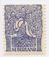 Koopjeshoek! NVPH 110 Ongebruikt ZONDER GOM (1 cent) Diverse voorstellingen 1923
