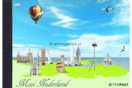 NVPH PR8 Postfris Prestigeboekje Mooi Nederland 2005