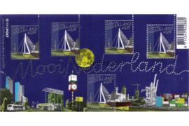 Nederland NVPH 2340 Postfris Blok Mooi Nederland (3) Rotterdam 2005