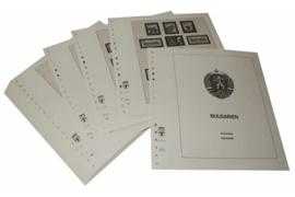 Lindner Inhouden / T-Voordruk albumbladen met folie voorbladen met stroken (Inhoud) Bulgarije 1976-1979 (51 bladen) (Lindner 136-76)