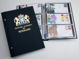 DAVO Standaard FDC albums (Groot) met beschermhoes en inhoud
