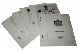 Lindner Inhouden / T-Voordruk albumbladen met folie voorbladen met stroken (Inhoud) Nederland 1945-1966 (33 bladen) (Lindner 190-45)