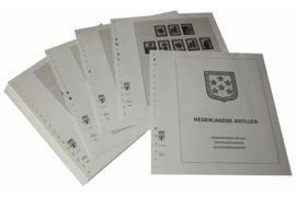 Lindner Inhouden / T-Voordruk albumbladen met folie voorbladen met stroken (Inhoud) Nederlandse Antillen 2000-2008 (52 bladen) (Lindner 430-00)