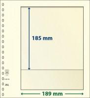 Lindner T-Blanco blad met 1 strook (Lindner 802103) (per stuk)