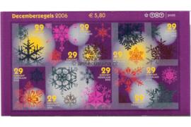 Nederland NVPH V2446-2455 Postfris (Half velletje!) Decemberzegels zelfklevend 2006