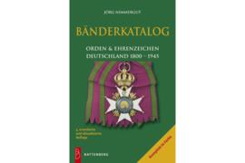 Bänderkatalog Orden & Ehrenzeichen Deutschland 1800-1945 (ISBN 9783866460317)