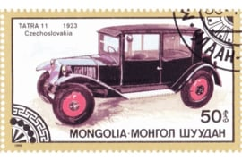 Mongolië Michel 1830 Gestempeld Oldtimers 1986