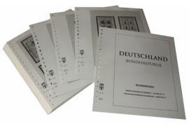 Lindner Inhouden / T-Voordruk albumbladen met folie voorbladen met stroken (Inhoud) Vellen van 10; 2001 (48 bladen) (Lindner 120BK-01)