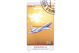 Mongolië Michel 1626 Gestempeld Vliegtuigen 1984