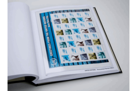 DAVO Luxe supplement United Nations Personal Stamps 2019