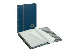 Lindner Insteekalbum Lotus Blauwe Kaft (Lindner 5701-B)