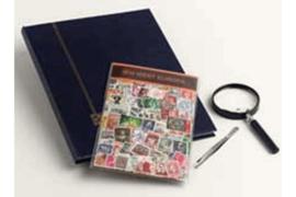 West-Europa Postzegelpakket incl. insteekboek, pincet en loupe