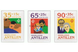 Nederlandse Antillen NVPH 1074-1076 Postfris Kinderzegels 1994
