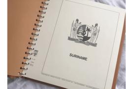 (Z.G.A.N.!) Gebruikt Exclusief Lindner Falzlos album Suriname 434