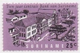 NVPH 476 Postfris (25 cent) 10 jaar Centrale Bank 1967