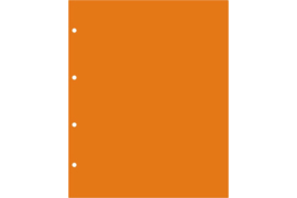Hartberger LKO Oranje tussenbladen (per stuk)