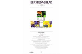 Nederland Importa EDB105 (NVPH 1521-1523) Eerstedagblad Zomerzegels, Floriade 1992