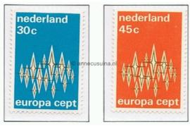 NVPH 1007-1008 Postfris Europa-CEPT 1972