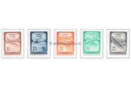 Indonesië Zonnebloem 209-213 Postfris De Dag van de Luchtvaart 1958