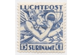 Suriname NVPH LP2 Postfris (15 cent) Mercuriuskop 1930
