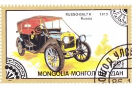 Mongolië Michel 1833 Gestempeld Oldtimers 1986