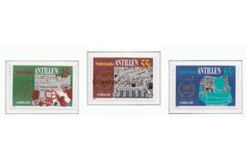 Nederlandse Antillen NVPH 764-766 Postfris 100 jaar dagblad Amigoe di Curacao 1984