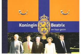 NVPH PR2 Postfris Prestigeboekje Koninklijk Huis I 2004