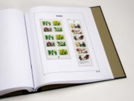 DAVO Luxe supplement Zweden AU Postzegelboekjes 2014