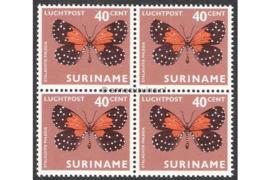 NVPH LP52 Postfris (40 ct) (Blokje van vier) Vlinders 1972