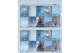 Nederland NVPH V2530-2539 Postfris Decemberzegels vel met 2x10 zegels met logo TNT post rechtsboven 2007