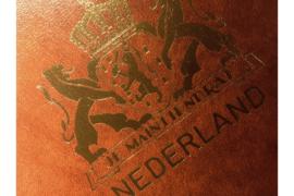 Gebruikt Importa Luxe FDC Nederland album Bruin P.S. III Goudopdruk met Landswapen Nederland