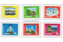 Nederlandse Antillen NVPH 445-450 Postfris Eilanden 1972