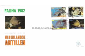 NVPH E151 Fauna, inheemse vissen 1982