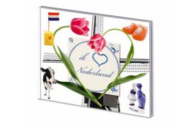 DAVO Ik hou van Nederland (met klemstroken)