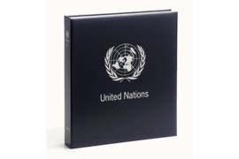 DAVO Standaard-Luxe postzegelalbum United Nations New York I 1951-1995 INCL. LUXE CASSETTE