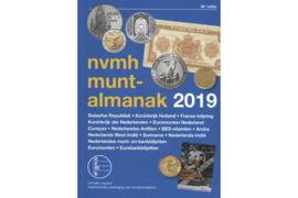 NVMH Muntalmanak 2019 incl. bankbiljetten en euromunten