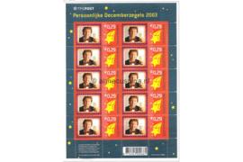 Nederland NVPH V2232 Postfris Velletje December-Verrassingszegel 2003