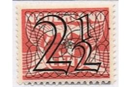 NVPH 356 Postfris (2 1/2 cent) Guilloche (Traliezegels) 1940